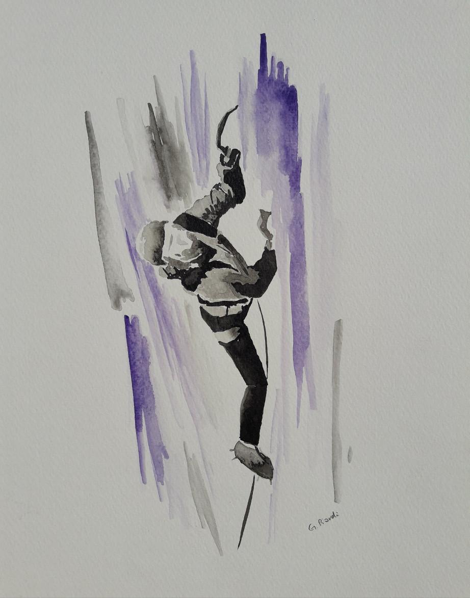 Cascata viola
