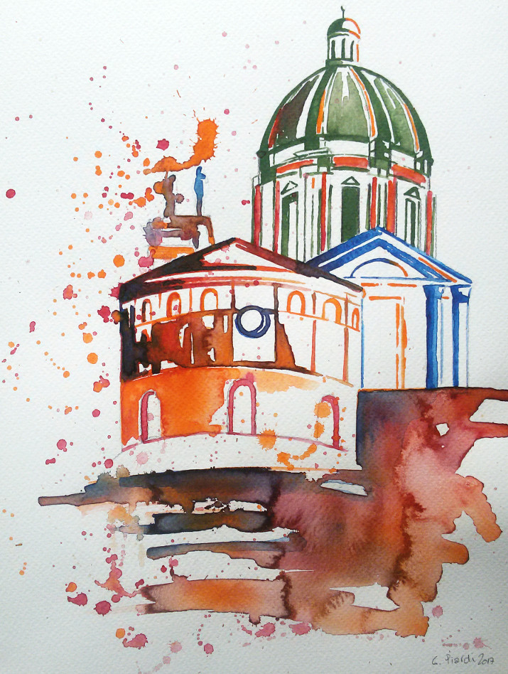 La Rotonda ed il Duomo Nuovo