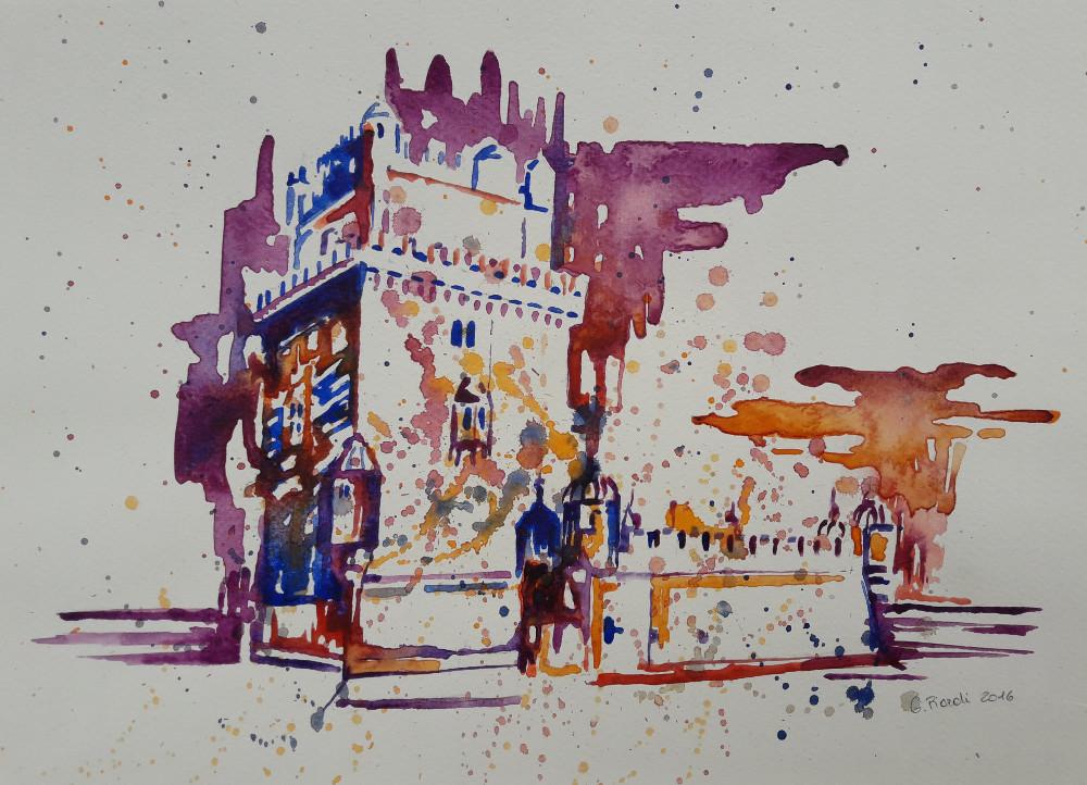 Lisona, la Torre di Belém