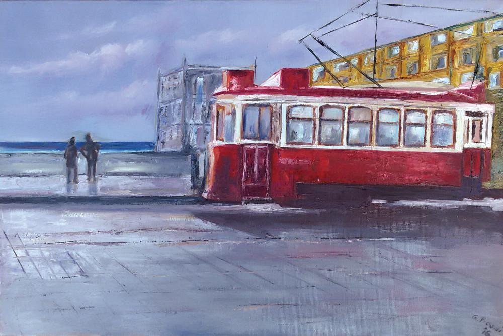 Il tram sul Tago.