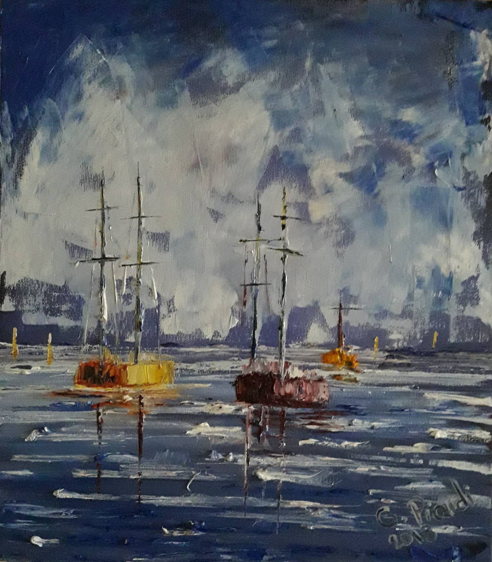 Barche nel fiordo