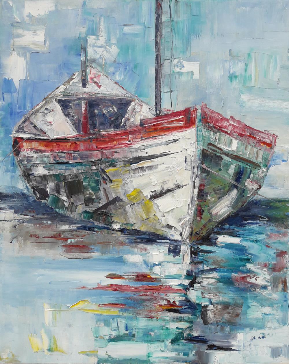 Barca bianca