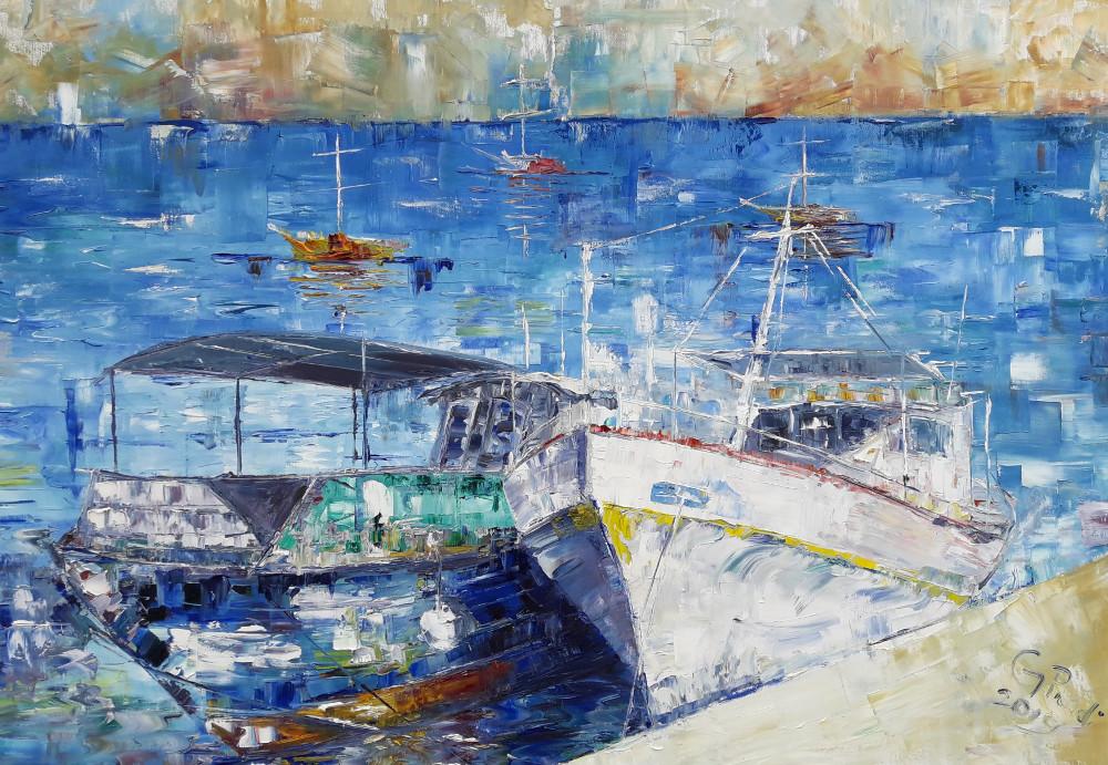 Barche di Telendos