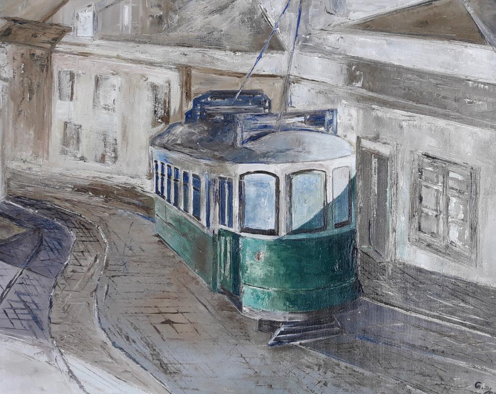 Il tram verde di Lisbona