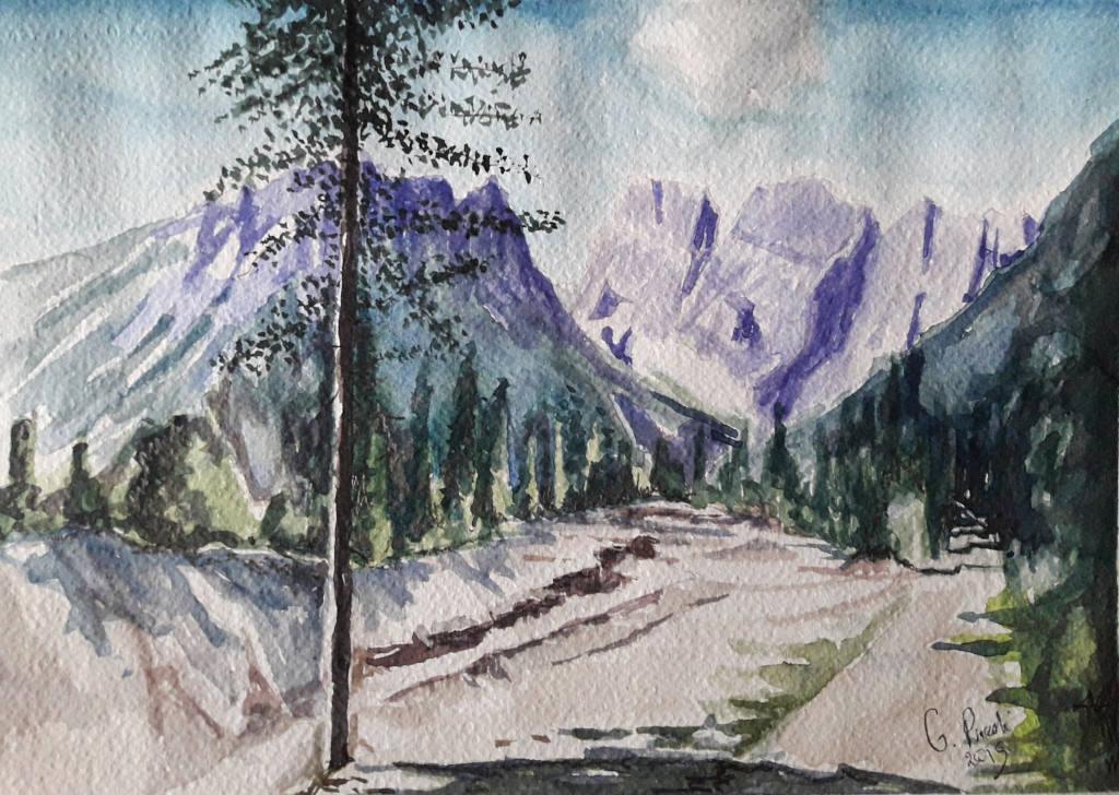 Una passeggiata tra le Dolomiti