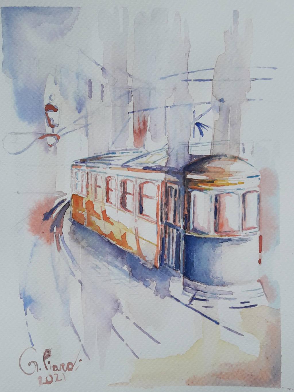 Il tram nella nebbia